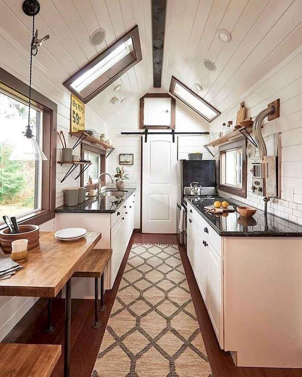 26 Tiny House Kitchen Storage Organization and Tips Ideas