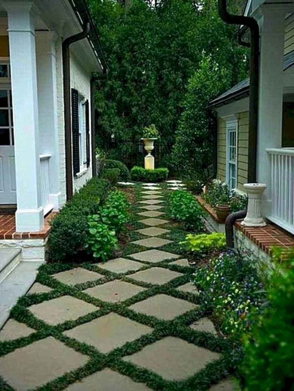 Side House Garden Landscaping Ideas